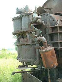 Current condition of HEPC locomotive #46
